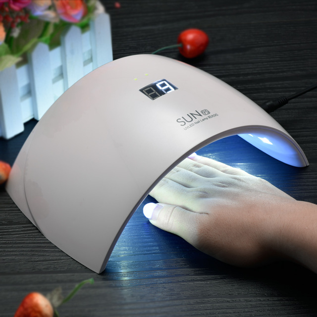 24W Sunshine Nail Gel Polish Curing Lamp Dryer